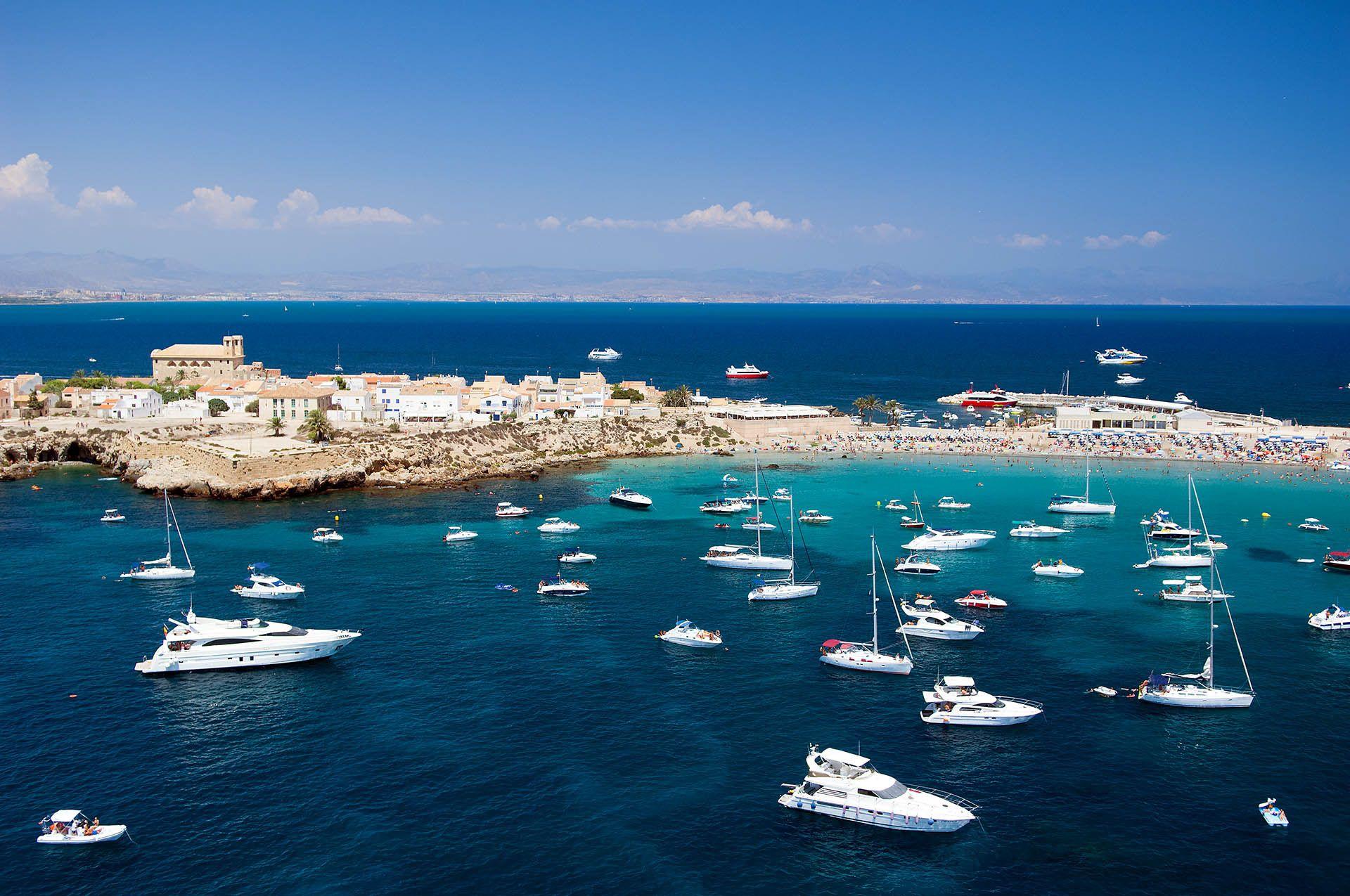 Tabarca island bay flytospine - Hoteles en isla tabarca ...